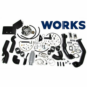 Works 142 211 Stage 1 Turbo Charger Kit For 2013 2016 Subaru Brz Scion Fr S
