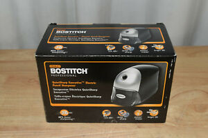 Bostitch Quietsharp Executive Electric Pencil Sharpener Black