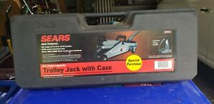 Sears Craftsman 2 1 4 Ton Trolley Jack Model 875 505220 Great Condition
