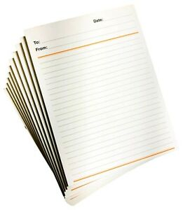 Memo Pads Note Pads Scratch Pads Pack Of 10 Pads With 50 Sheets Each paper