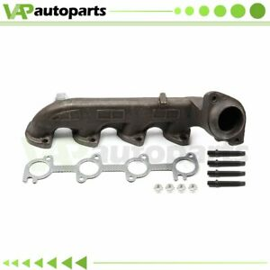 Driver Left Exhaust Manifold Kit For 00 13 Ford E350 Van V8 5 4l Driver Side