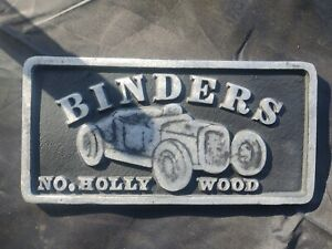 Car Club Plaque Chevy Ford Pontiac Edelbrock Holley Hot Rod Parts Muscle Car 67