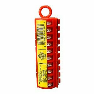 Sdr 20 29 Wire Marker Tape Refill Roll Numbers 20 29 pack Of 10