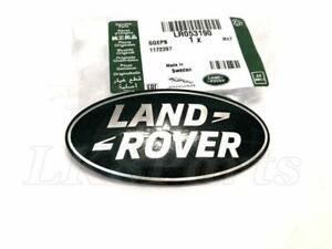 Land Rover Range Rover Evoque Rr Sport Front Name Plate Badge Lr053190 Genuine