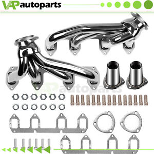 Exhaust Headers For Ford Big Block Fe 330 360 390 428 V8 Stainless Steel Shorty