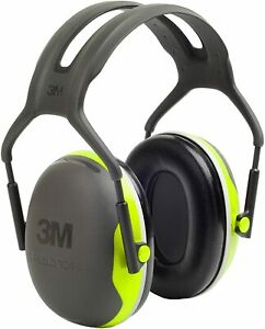 Peltor X4a Over the head Ear Muffs Noise Protection Nrr 27 Db One Size