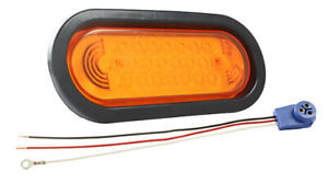 Grote 53123 Supernova Oval Led Stop Tail Turn male Pin Yellow Kit