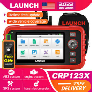 2020 New Launch X431 Crp123x Pro Obd2 Diagnostic Scanner Fault Car Code Reader
