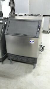 Used Manitowoc Uy0140a Undercounter Ice Maker With Bin
