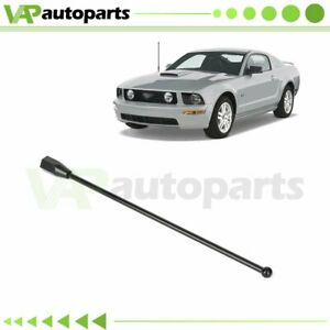 8 Short Black Stainless Amfm Antenna Mast Fits For Ford Mustang 1979 2009