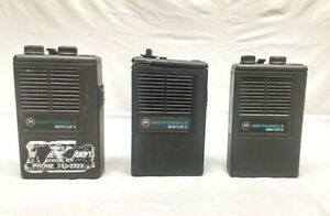 Lot Of 3 Low Band Vhf Motorola Minitor 2 Ii Fire Ems Police Pagers