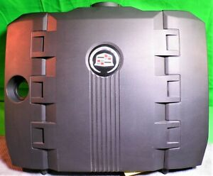 2008 14 Cadillac Cts 3 0l Engine Cover Assembly 12629270 Oem