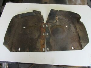 1963 Ford Galaxie 500 Xl Rh Lh Front Fender Splash Shields