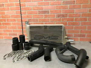 08 15 Mitsubishi Evo X Ams Front Mount Intercooler Kit W Pipes