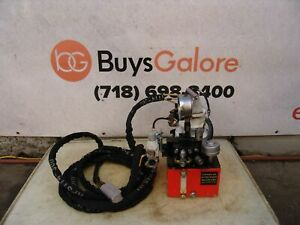Hytorc Hydraulic Pump For Impact Wrench 10 000 Psi Air Powered Pneumatic Nice