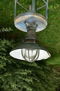 Crouse Hinds Barn Farmhouse Warehouse Explosion Proof Light Shade Vintage