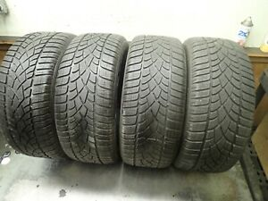 4 245 45 18 100v Dunlop Sp Winter Sport 3d Dsst Tires 6 7 5 32 No Repairs 2814up