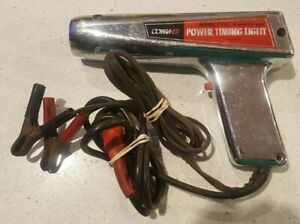 Vintage Cobra Gt Metal Inductive Power Timing Light Model 7150 6 12 Volt Meuller