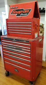 Mac Tools Tool Box And Snap On Top Chest Good Condition