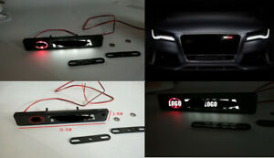 Car Accessories Led Emblem Grill Badge Front Grilles Auto Sticker For Toyota