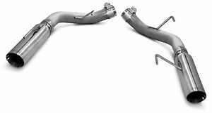 Slp Loudmouth Axle back Exhaust W 3 5 Tips For 05 10 Mustang Gt Gt500 M31014