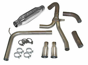 Slp Loudmouth Cat Back Exhaust System For 98 02 Camaro Firebird Ls1 31042a