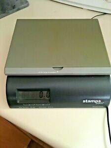 Stamps com Electric Postage Scale Model 2500i With Power Source plug In Nice