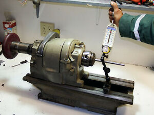 Bed South Bend Heavy 10 Lathe Bench Inspection Test Bed