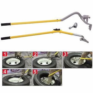Tire Changer Tire Mount Demount Tool Tubeless Truck Extra Bead Keeper New