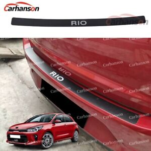 Auto Parts For Kia Rio Car Accessories Car Rear Bumper Protector Stickers Guard