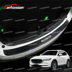 Auto Parts For Mazda Cx5 Accessories Car Rear Guard Bumper Protector Cover Trim