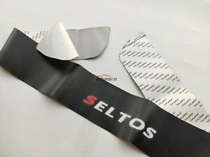 Auto Parts For Kia Seltos Accessories Car Rear Guard Bumper Protector Cover Trim