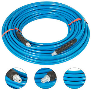Pressure Washer Hose Carpet Cleaning Hose 1 4 150ft 3000psi Braided Polyester