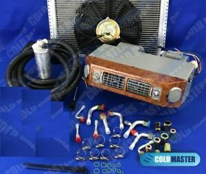 A c Kit Universal Underdash Evap Heat cool 406w No Compressor 14x20