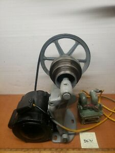 Southbend Lathe 9 10k Countershaft Assy W Motor Switch Exc Cond plug play