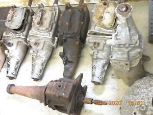 6 Gm Muncie Borg Warner Transmissions 2 Bell Housings And Parts