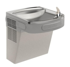 Elkay Lzs8l Gray Refigerated Drinking Fountain 8 0 Gph Wtr Cooler Ada 197765