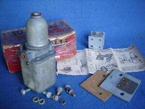 Vintage Nos Autopulse 500 Electric Fuel Pump 6v porsche 356 Carrera Spyder Parts
