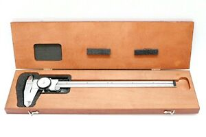 Starrett No 120 12 Dial Caliper In Wood Case