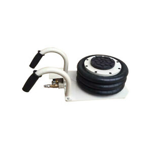Techtongda Triple Bag Air Jack 3ton Steel Rubber Curved Handle Used For Car Lift
