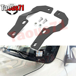 For 5th Gen Toyota 4runner Hood Side Pillar Off road Led Light Bar Mount Bracket