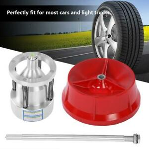 Portable Hubs Wheel Balancer W Bubble Level Heavy Duty Rim Tire For Cars Truck