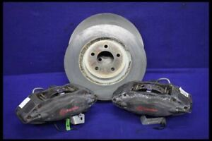 2011 2014 Ford Mustang Gt Front 4 Piston Brembo Track Pack Brake Calipers Rotors