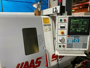 1999 Haas Sl 20 Cnc Turning Center Lathe W Servo 300 Barfeeder Chucker Used