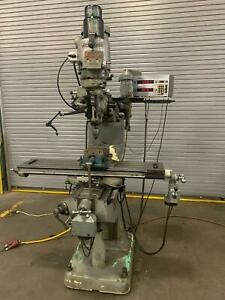 Loaded Bridgeport Series I 2hp Vertical Milling Machine 48 Dro Shaping Feed