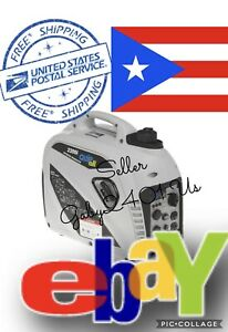 Quipall 2200i Gasoline Portable Inverter Gene Free Shipping To Puerto Rico