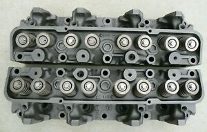 X Ford Thunderbird 1965 1966 Fe Big Block 390 C6ae r Heads 1958 1976 58 76