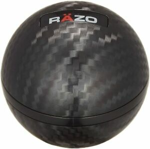 Carmate Razo Ra136 Carbon Fiber Look Shift Knob Round ball F s