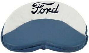 8n401bw Blue White Ford Pan Style Seat Cushion Bottom For Tractors
