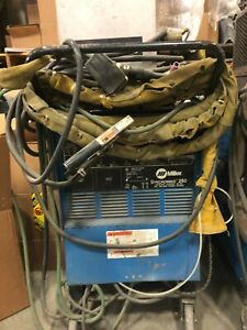 Miller Syncrowave 250 Tig Welder 240 Single Phase With Foot Pedal
